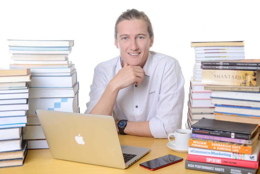Jarryd Chambers Publishing Experience CEO